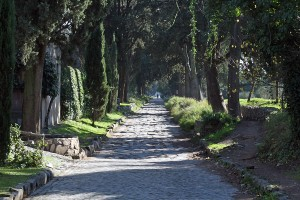 For some reason, the roads of Ithilien always remind me of Rome's Appian Way.