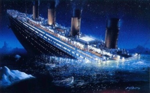 The Titanic agrees.
